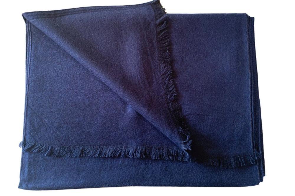 Classic Navy Bamboo Scarf