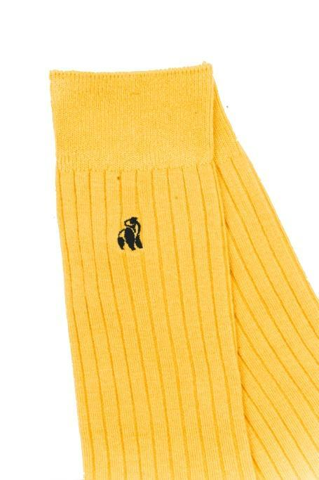 Bumblebee Yellow Bamboo Socks