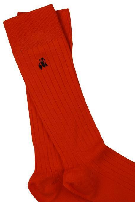 Classic Red Bamboo Socks