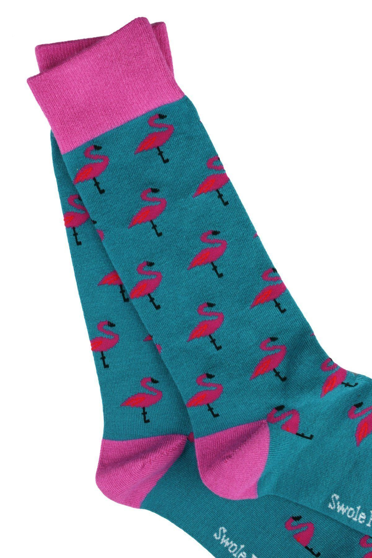 Flamingo Bamboo Socks