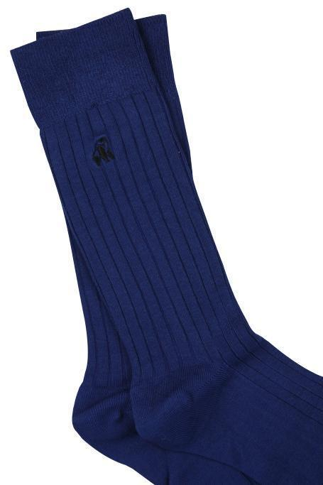 Royal Blue Bamboo Socks