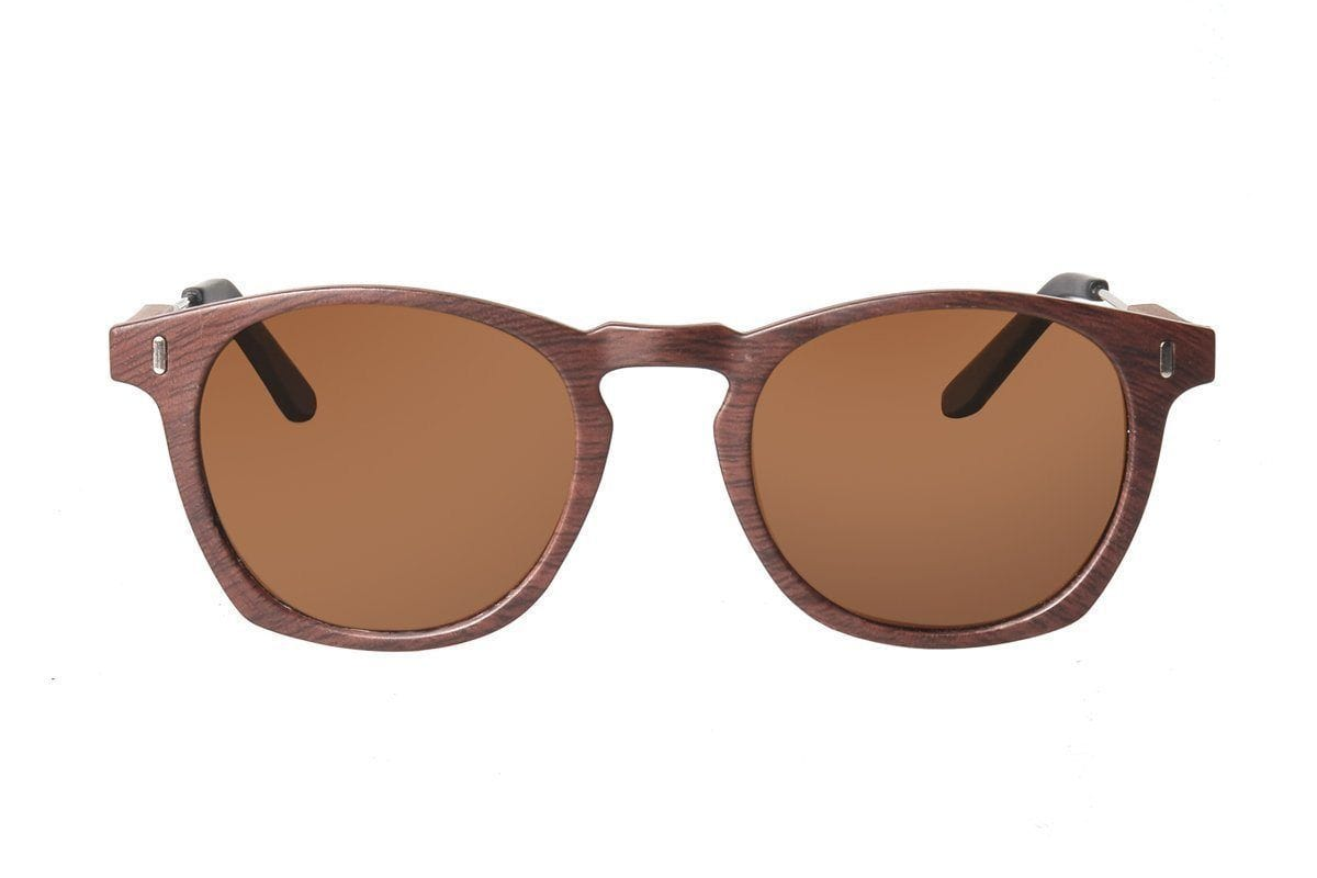 The Maverick - Matte Brown / Sepia Lenses