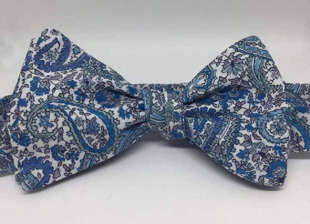 Liberty cotton bow ties
