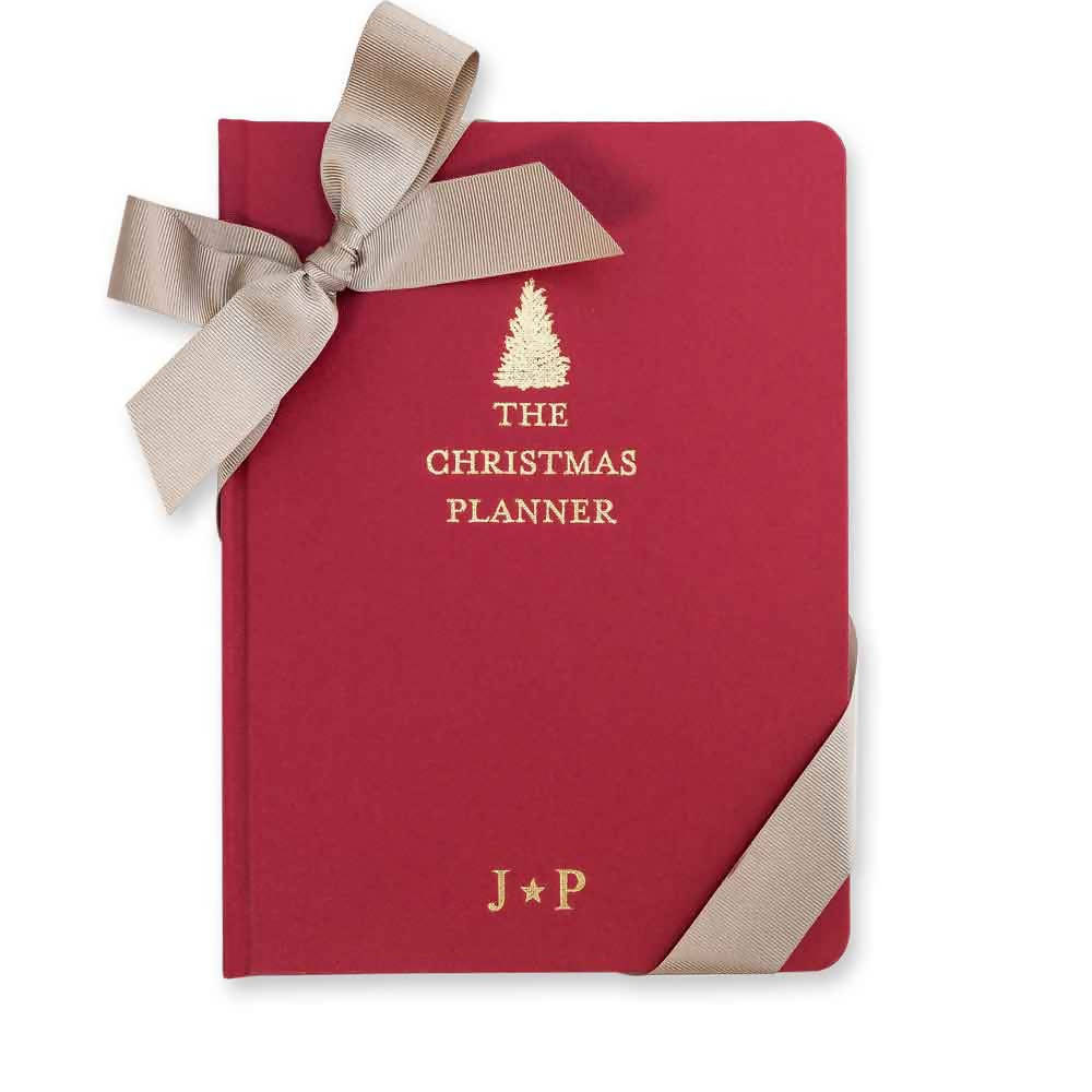 Five Year Christmas Planner - Red Tree
