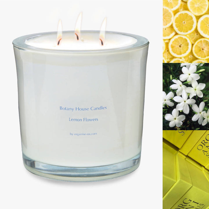 Lemon Flowers Candle