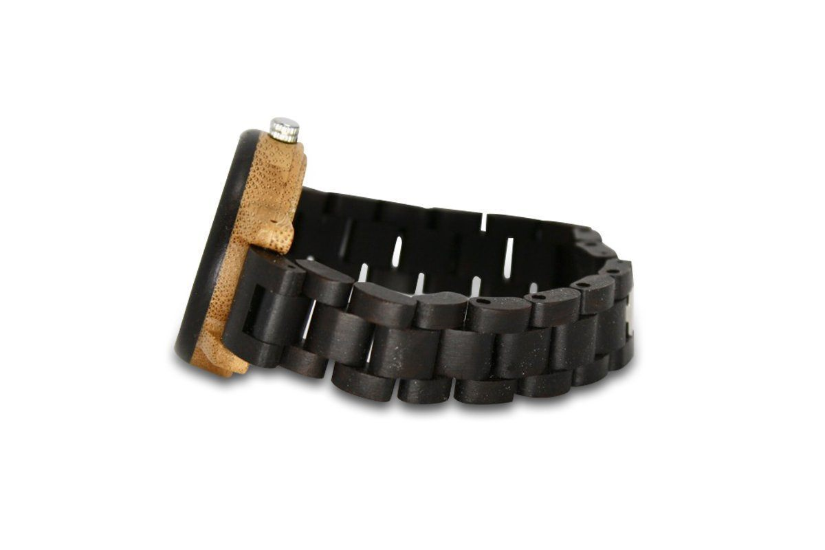 Small Charcoal Bamboo Watch
