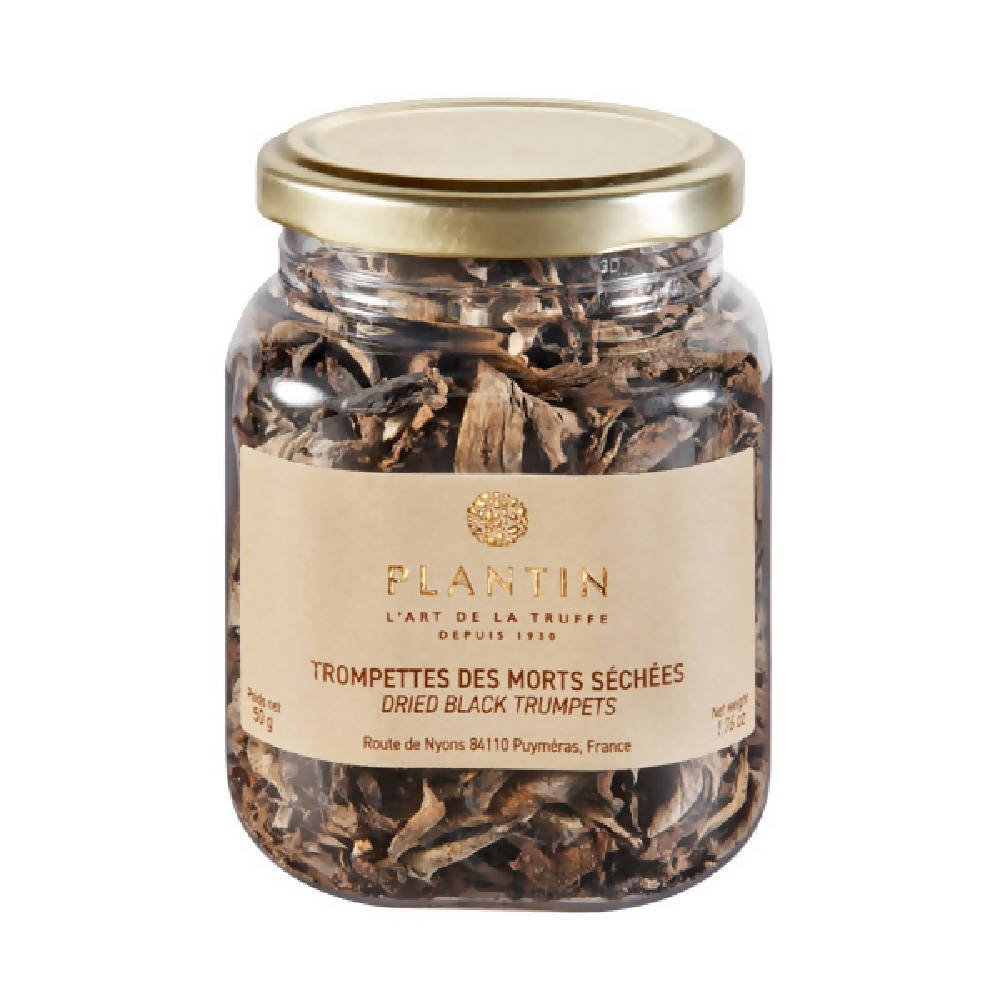 Dried Black Trumpet Mushrooms (Trompettes des Morts) - 125g