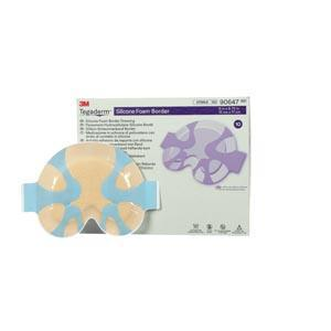 3M™ Tegaderm™ Silicone Foam Border Dressing-3M Health Care-Medi-Wheels