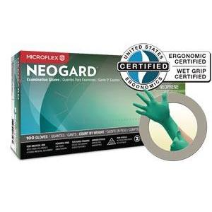 Ansell Microflex Neogard® Powder-Free Medical-Grade Chloroprene Exam Gloves-Ansell-Medi-Wheels