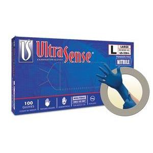 Ansell Microflex Ultrasense® Powder-Free Nitrile Exam Gloves-Ansell-Medi-Wheels