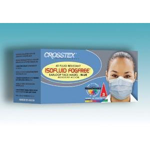 Crosstex Isofluid Fogfree® Earloop Mask-Crosstex International-Medi-Wheels