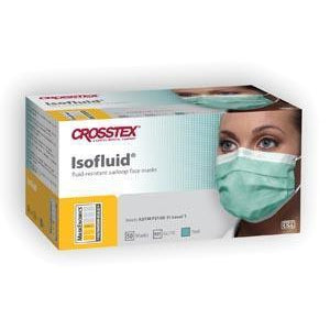Crosstex Isofluid® Earloop Mask-Crosstex International-Medi-Wheels
