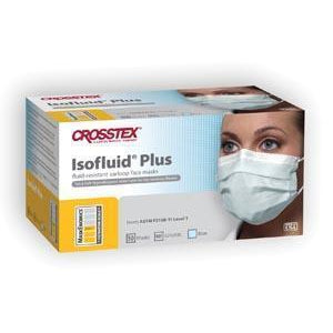 Crosstex Isofluid® Plus Earloop Mask-Crosstex International-Medi-Wheels