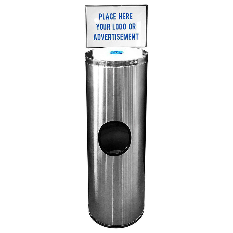 GERMisept® Stainless Steel Floor Dispenser-Infection Control-Medi-Wheels