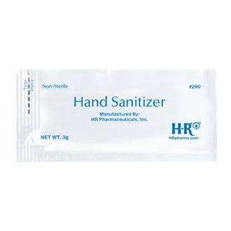 HR® Portable Hand Sanitizer Packets-HR Pharmaceuticals-Medi-Wheels