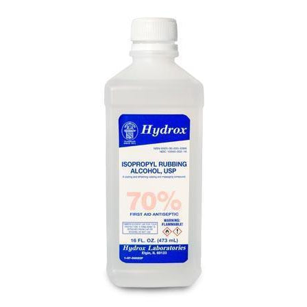 Hydrox Laboratories Isopropyl Alcohol-Hydrox Laboratories-Medi-Wheels