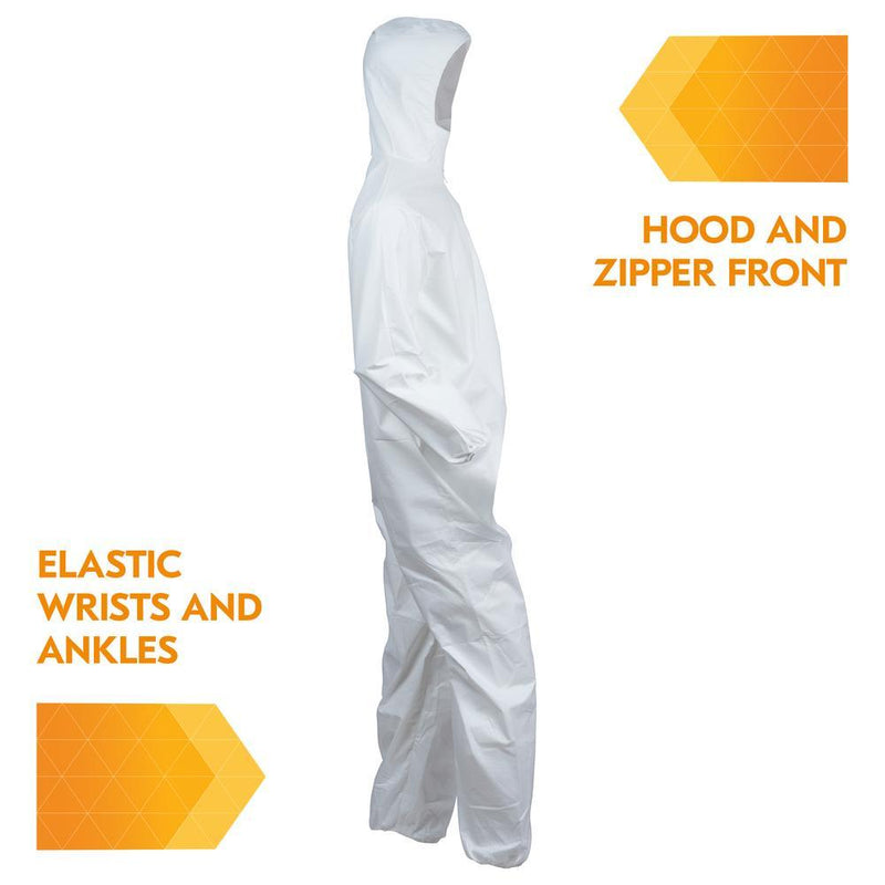 Kimberly-Clark Kleenguard® A40 Hooded & Booted Coveralls-Kimberly-Clark Professional-Medi-Wheels