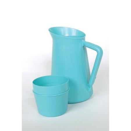 Medegen Pitchers With Cup Cover-Medegen Medical Products, LLC-Medi-Wheels
