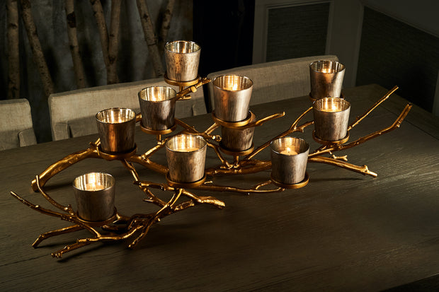 Double Branch Candelabra