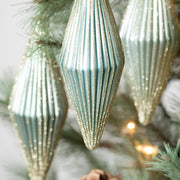 Pleated Ornament Set of Three