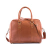 bags WEEK-END CHIC LEATHER BAG-NATURAL - ArtinooARTINOO