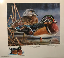 "Load image into Gallery viewer, ""2020 Wisconsin Duck Stamp Print"""