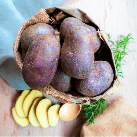 NEW SEASON Blue Moon Potatoes