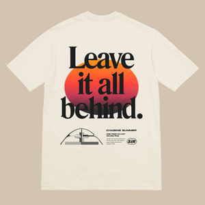 LEAVE IT ALL BEHIND S/S T-SHIRT (OFF-WHITE)