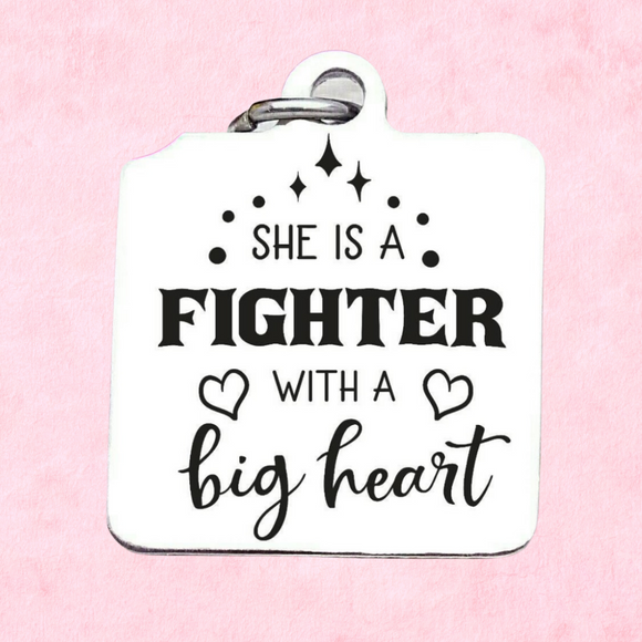 She is a fighter