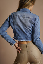 Load image into Gallery viewer, Essentail Jacket- Denim