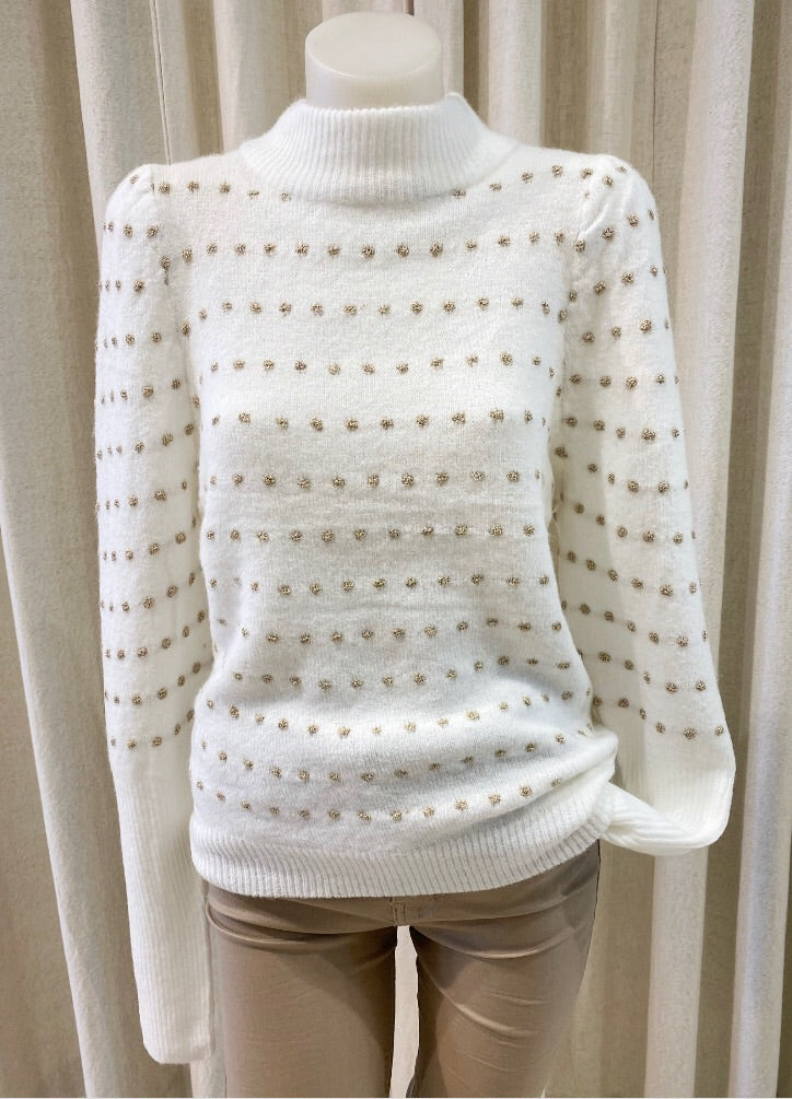 Kimberly Cream Jumper
