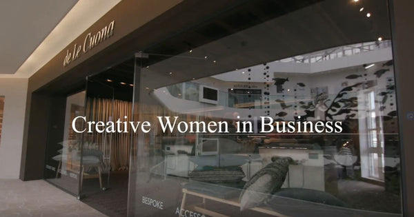 NEW VIDEO. BERNIE DE LE CUONA IN CONVERSATION WITH LEADING CREATIVE BUSINESSWOMEN: KATHARINE POOLEY, RITA KONIG & EMMA WILLIS