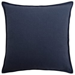 Artist Canvas Cushion with Suede Trim - Night