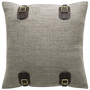 Maroc Buckle Cushion - Bay