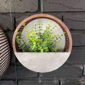 Hole Punched Wall Planter - Small