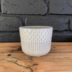Tuscan Planter - White - Small