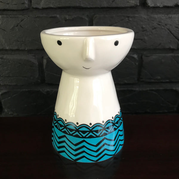 Blue Lulu Planter