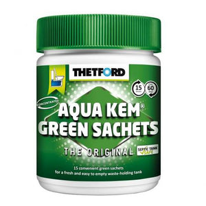 Aquakem green sachets (15)