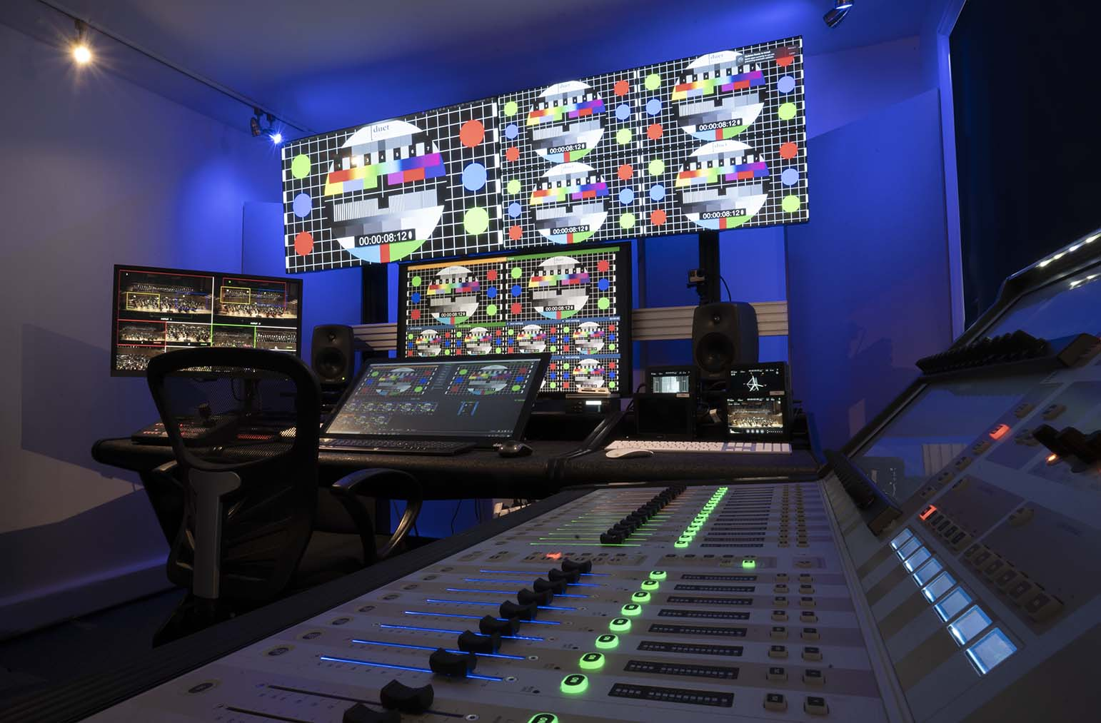 Our Remote Production Studios in Ashford, Kent