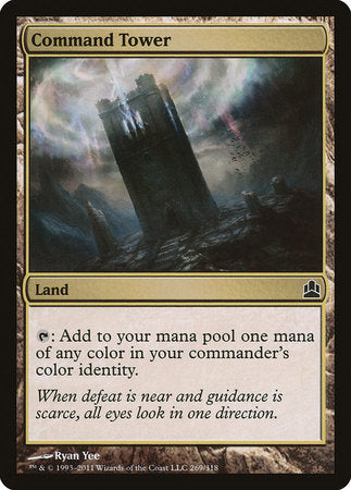 Command Tower [Commander 2011]