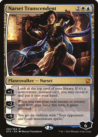 Narset Transcendent [Dragons of Tarkir]