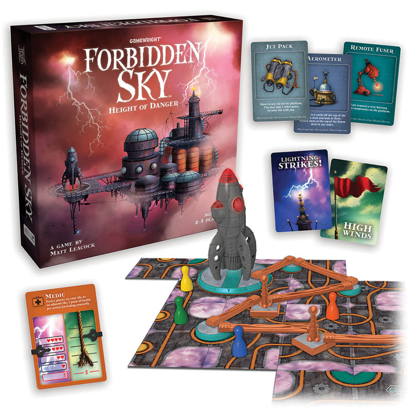 Picture of the Board Game: Forbidden Sky - Height of Danger