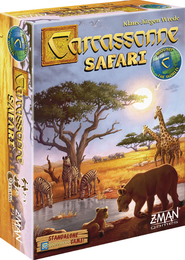 Picture of the Board Game: Carcassonne: Safari