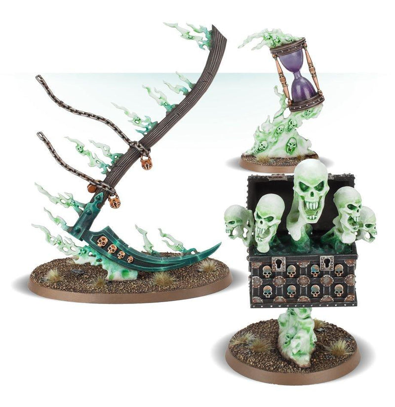 Picture of the Warhammer: Age of Sigmar: Endless Spells: Nighthaunt