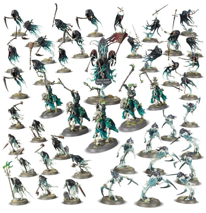Picture of the Warhammer: Age of Sigmar: Battleforce: Nighthaunt Court of the Craven King
