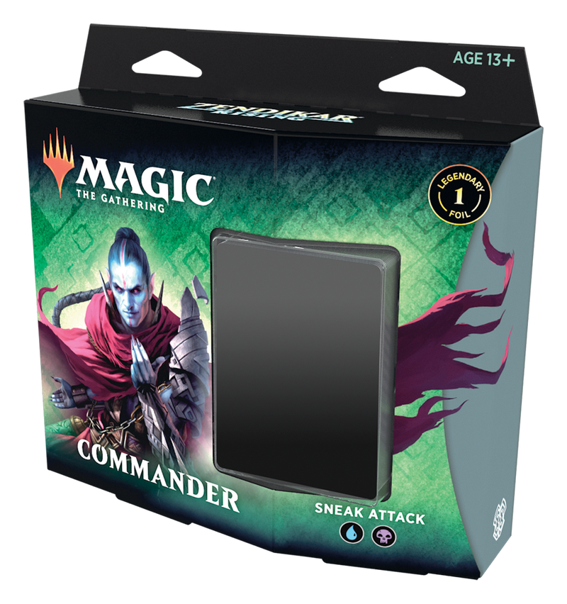 Zendikar Rising Commander Decks