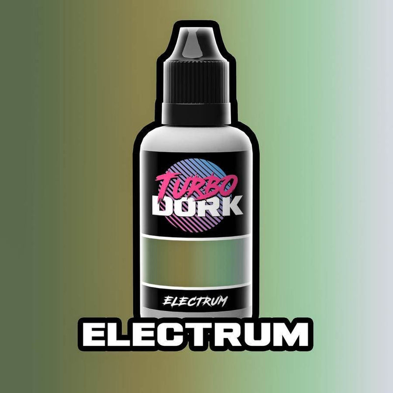 A picture of Turbo Dork - Turboshift Acrylic Paint: Electrum (20ml Bottle)