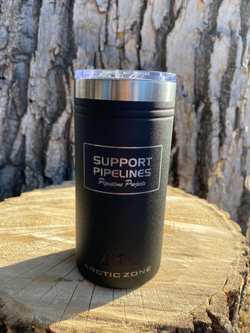 Support Pipelines Heavy Duty ARTIK ZONE Titan Thermal Slim Cooler 12 oz