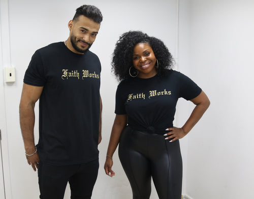 Faith Works Tee - Black