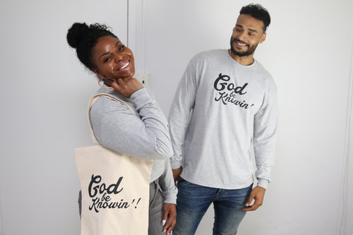 God Be Knowin' Long Sleeve - Gray